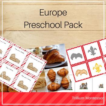 Europe Preschool Pack