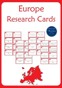 Europe Research Cards