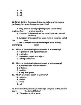Europe Test