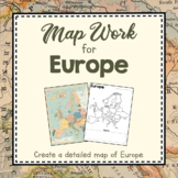 Europe Unit Study: Map Work for Europe