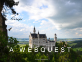 Europe Webquest (World Geography and History)