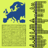 Europe Crosswords and Word Search Puzzles