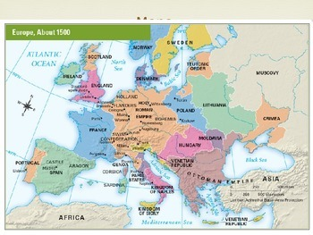 Europe and history behind the Discovery of America