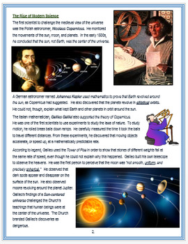 """""""The Scientific Revolution"""" - An Overview + Assessments"""