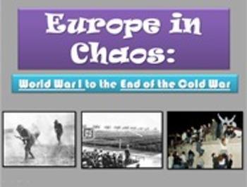 Europe in the 20th Century H7 6th Grade Georgia Social Studies GPS