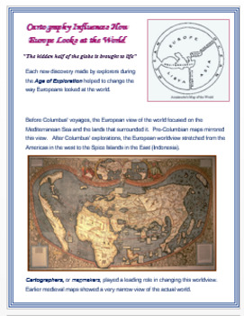 Cartography in the Age of Exploration + Assessment