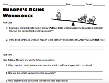 Europe's Aging Workforce and Immigration Lesson
