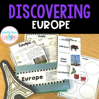 Continents: Europe Unit with PowerPoint