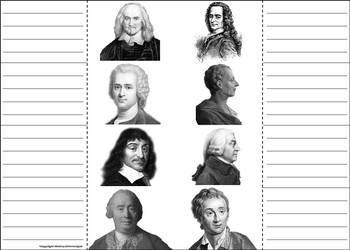 European Age of Enlightenment Interactive Notebook Activity