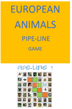 European Animals Pipe-line Game