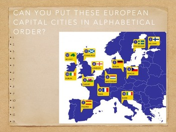 European Capital City Quiz