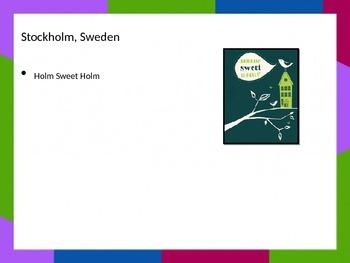 European Capital Mnemonics : Capital Catchphrases!