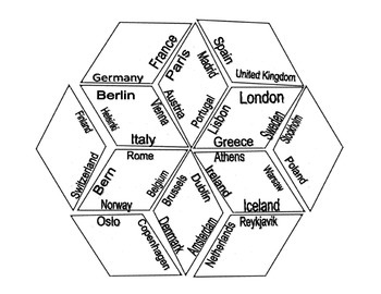 European Capitals Study Diamond