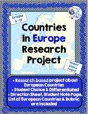 European Countries Research Project