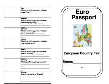 European Country Fair Passport