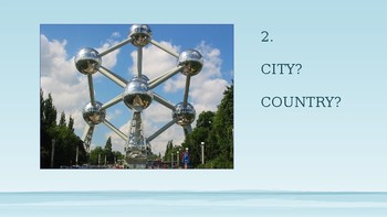 European Cultural PowerPoint Quiz - Cities, Landmarks, Languages & Food