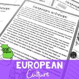 European Culture (SS6G10, SS6G10a, SS6G10b)