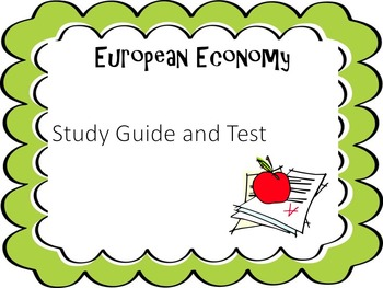 European Economy Study Guide and Test
