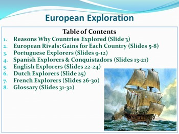 European Exploration (1488-1683) Free