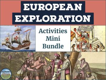 European Exploration Activities Bundle