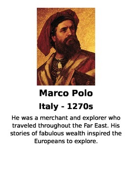 European Exploration Cards 1000-1607