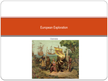 European Exploration: Gold, Glory, & God