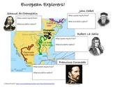European Explorers Graphic Organizer 1