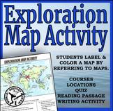 European Exploration Map Activity