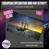 European Exploration Mind Map Activity