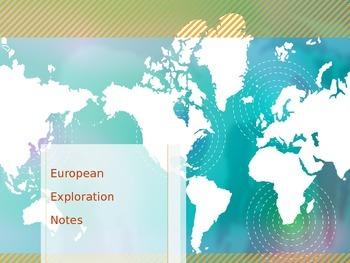 European Exploration Notes