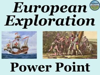 European Exploration Power Point 1500-1800