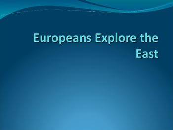 Age of Exploration Powerpoint