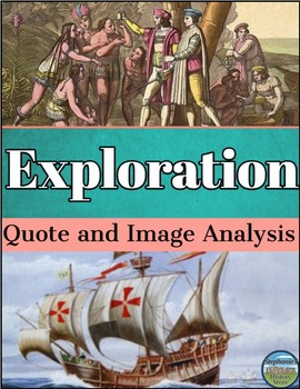 European Exploration Quote and Image Analysis
