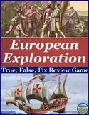 European Exploration Review Game