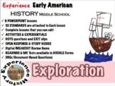 European Exploration Unit: Lessons, Readings, Breakouts & Tests/ Middle School