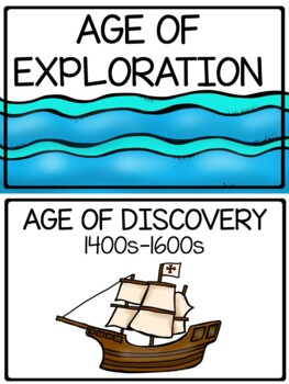 European Exploration Word Wall