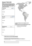 European Exploration Worksheet
