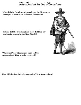 European Exploration Worksheets - 5 Worksheets with Answers!