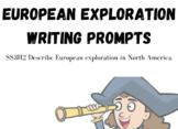 European Exploration Writing Prompts