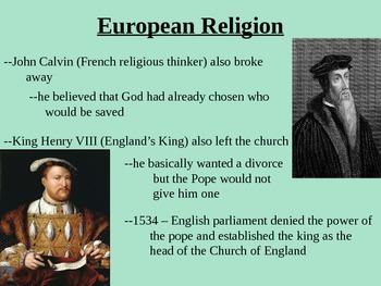 European Exploration and British Colonies