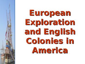 European Exploration and English Colonization in the Americas PPT