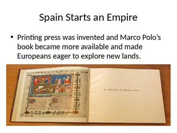 European Exploration and Settlement PowerPoint