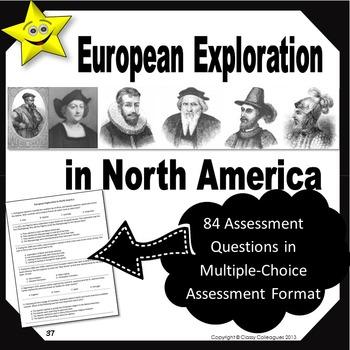 European Exploration in North America Quizzes