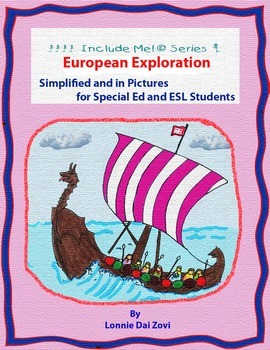 European Exploration in Pictures for Special Ed, ESL and ELL Students