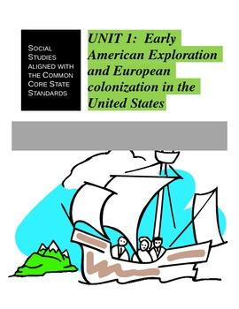 European Exploration of the Americas Unit 1
