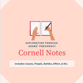 European Exploration to President John Adams Cornell Notes