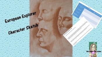 European Explorer:  Character Sketch