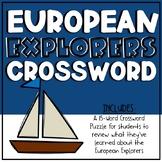 European Explorer Crossword
