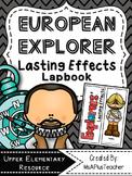 European Explorer Lasting Effects Lapbook