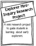 European Explorer Mini-Inquiry Research Project